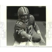 Press Photo Atlanta Falcons football quarterback Chris Miller - sas14500