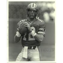 Press Photo Atlanta Falcons football quarterback Chris Miller - sas14620