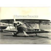 1975 Press Photo Pitts Special acrobatic aircraft number VH-PAS - lrx02526