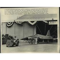 1959 Press Photo Northrop Corporation N-156F Multi Purpose Fighter for U.S Air