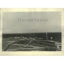 1928 Press Photo Navel Air Base, Lakehurst, New Jersey where Graf Zeppelin lands