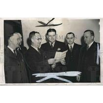 1945 Press Photo Birmingham Postwar Aviation Planning Committee - abno08557