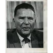 1971 Press Photo Milwaukee Brewers baseball executive, Frank Lane - mjt03745