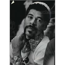 1973 Press Photo Controversial ex-Milwaukee Bucks basketball player, Wali Jones