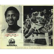 Press Photo Seattle SuperSonics basketball player Lonnie Shelton - sas15612