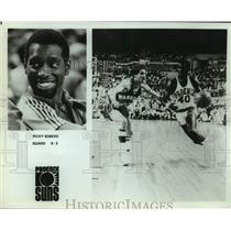 Press Photo Phoenix Suns basketball player Ricky Sobers - sas15944