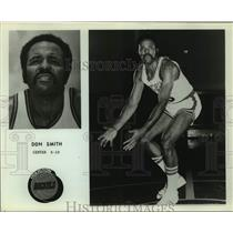Press Photo Houston Rockets basketball player Don Smith - sas16166