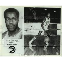 Press Photo Atlanta Hawks basketball player Rick Wilson - sas16209