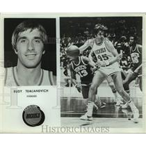 Press Photo Houston Rockets basketball player Rudy Tomjanovich - sas16291