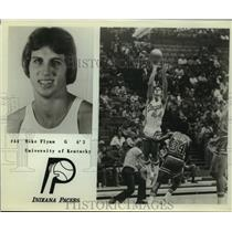 Press Photo Indiana Pacers basketball guard Mike Flynn - sas09715