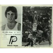 Press Photo Indiana Pacers basketball player Mike Flynn - sas09716