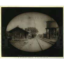 1902 Press Photo Niskayuna Hamlet Train Station - tua07033