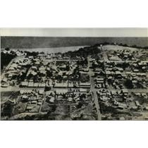 1942 Press Photo town of Darwin, Australia after being bombed by the Japanese