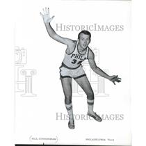 1970 Press Photo Bill Cunningham, basketball player for the Philadelphia 76ers