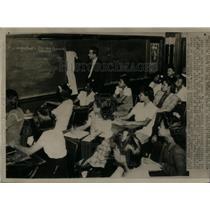 1944 Photo Balloting Procedure Taught Negro Students - RRX12313