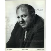 1972 Press Photo Abe Gibron, Head Coach of Chicago Bears - mjt10676