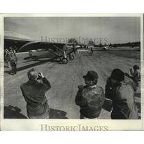 1977 Press Photo Spirit of St. Louis Replica Experimental Aircraft Association