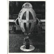 1978 Press Photo Nose of Air Force T-33 post World War 2 Jet trainer - mjc29821