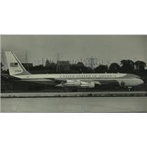 1984 Press Photo United States of America's Presidential plane, Milwaukee