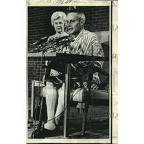 1970 Press Photo Mr. & Mrs. Dale Hupe at Falls Church, Virginia news conference