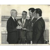 1971 Press Photo Federal Aviation Administrator's Decoration for Valor Awardees