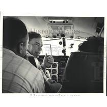 1983 Press Photo Fran and Emile Salles, Louisiana Air Tour coordinators
