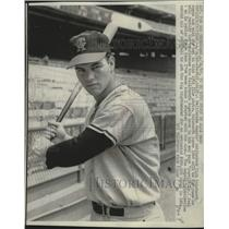 1966 Press Photo Rick Reichardt as a California Angel. - mjt20403