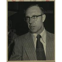 Press Photo Houston Astros Baseball Manager Bill Virdon - sas19691