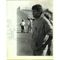 1983 Press Photo Former Dallas Cowboys Football Quarterback Brad Wright