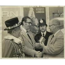 1975 Press Photo Eastern-British Airways celebrate New Orleans to London service