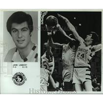 1979 Press Photo Cleveland Cavaliers basketball player John Lambert - nos18295