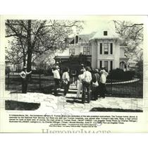 1988 Press Photo Former Home of Harry S. Truman, Independence, Missouri