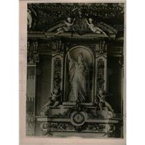1919 Press Photo Paris Liberty Statue Peace Conference - RRX72445