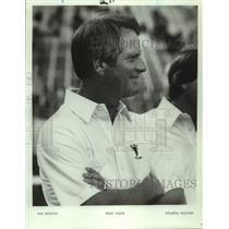 1984 Press Photo Atlanta Falcons football coach Dan Henning - nos19114