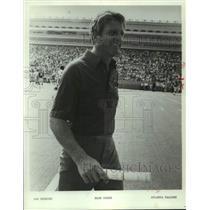 1984 Press Photo Atlanta Falcons football coach Dan Henning - nos19115