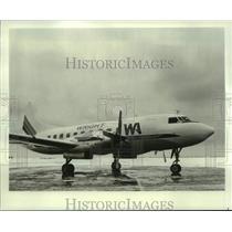 1982 Press Photo Wright Air Lines flies the Convair 600, propjet plane