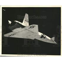 1957 Press Photo The U.S. Air Force X-10 at Florida for a series of flight tests