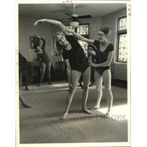 1979 Press Photo Aerobics class at St. Paul's Methodist Church in Houston