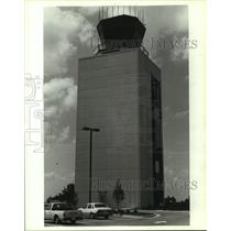 1989 Press Photo Air traffic control building at Alabama airport - amra05964