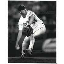 Press Photo Kevin Appier of the Kansas City Royals - lrs09435