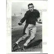 1933 Press Photo Chicago Back Jay Berwanger first winner of Heisman Trophy