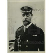 1898 Press Photo King George of England commanded the Vessel H.M.S Crescent