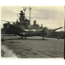 1971 Press CH 21B Helicopter Display at USS Alabama - amrx00096