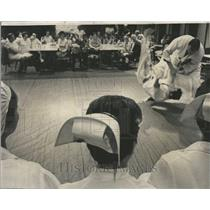 1959 Press Photo Masoto Tamura Frederick Staack Judo - RRV57627