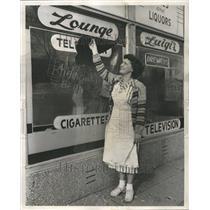 1949 Press Photo La Verne Andersen Wellington Luigi - RRV68193