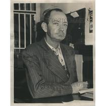 1949 Press Photo Martin King prominent leader activist starvation baby girl dead