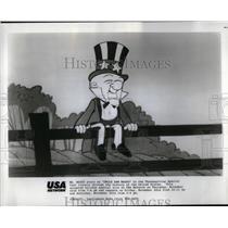 1900 Press Photo Magoo Stars Uncle Sam Magoo Thanks - RRX21333