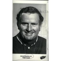1975 Press Photo Detroit Red Wings Head Doug Barkley - RRX39553