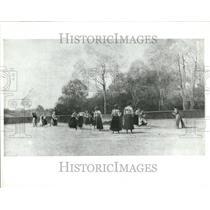 1902 Press Photo Ellen Bernard Thompson Woman Athletics - RRV47387