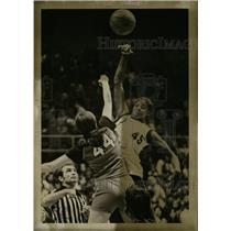 1976 Press Photo Luisa Harris Datha State.Basket ball - RRW74415
